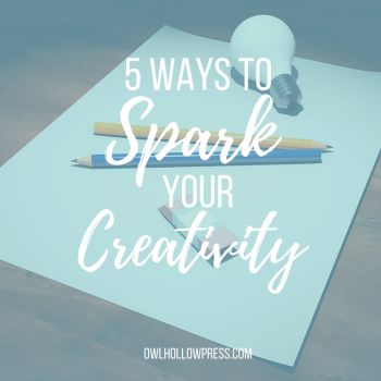5 ways to spark creativity