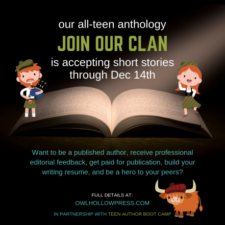 Copy of accepting short stories through Dec 14th